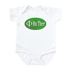 Phi on Thee Infant Bodysuit