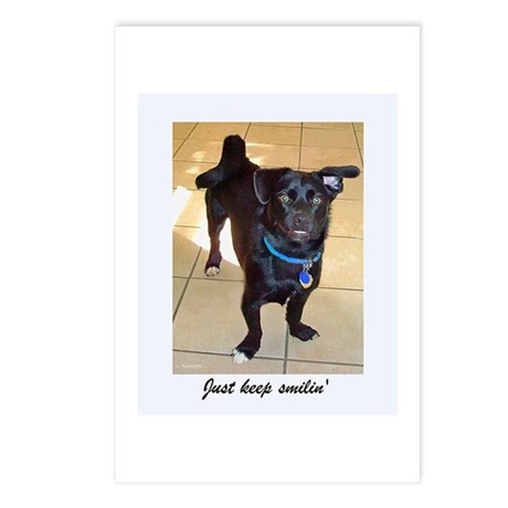 Smilin Dog Postcards (Package of 8)