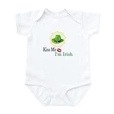 Kiss Me, I'm Irish Infant Bodysuit