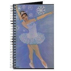 Snow Princess Ballerina Journal
