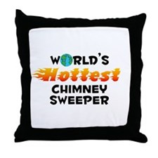 World's Hottest Chimn.. (C) Throw Pillow