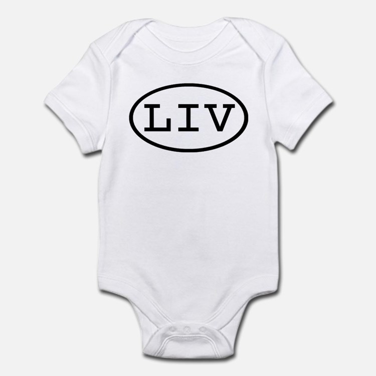 LIV Oval Infant Bodysuit