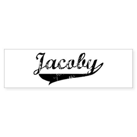 Jacoby (vintage) Bumper Sticker