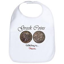 Greek Coins Bib