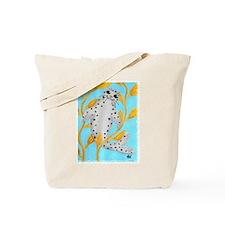 Happy Harbor Seal Tote Bag