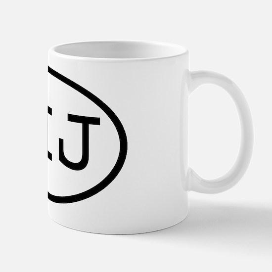 LIJ Oval Mug