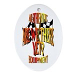 Are we there yet Keepsake (Oval)
