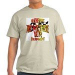 Are we there yet Ash Grey T-Shirt