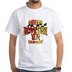 Are we there yet White T-Shirt