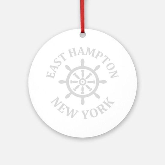 Unique Hamptons Round Ornament