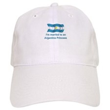 Married To Argentine Princess Baseball Cap