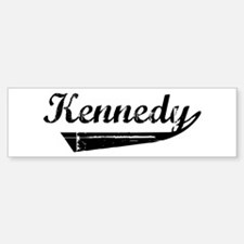 Kennedy (vintage) Bumper Bumper Bumper Sticker