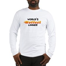 World's Hottest Limner (B) Long Sleeve T-Shirt