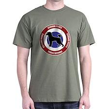 Standard Poodle Bullseye - Puppy Cut T-Shirt