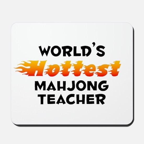World's Hottest Mahjo.. (B) Mousepad