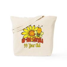 Un-Bee-Lievable 99th Tote Bag