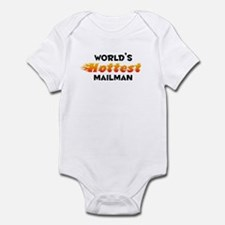 World's Hottest Mailman (B) Infant Bodysuit