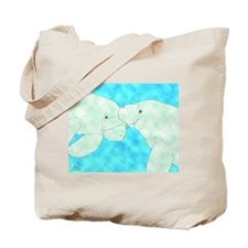 Manatee Pair Tote Bag