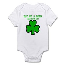 Irish shamrock Onesie