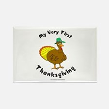MY FIRST THANKSGIVING Rectangle Magnet (100 pack)