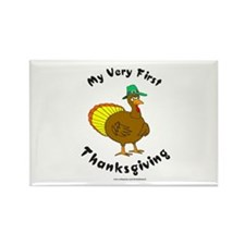 MY FIRST THANKSGIVING Rectangle Magnet
