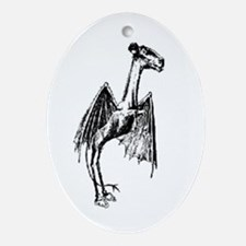 Jersey Devil Oval Ornament