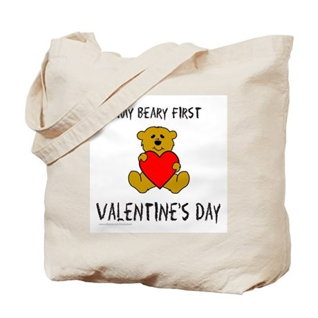 MY FIRST VALENTINE'S DAY Tote Bag