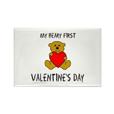 MY FIRST VALENTINE'S DAY Rectangle Magnet