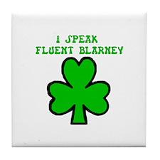 Irish Blarney Tile Coaster