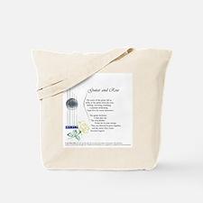 Cute Writing music Tote Bag