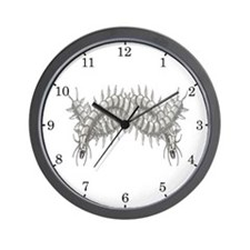 Great Sea-Centipede Wall Clock