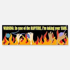 In Case of the Rapture Bumper Bumper Bumper Sticker