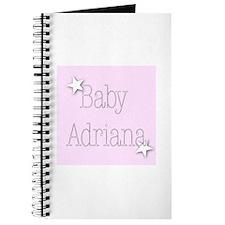 Cute Adriana Journal