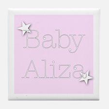Cute Aliza Tile Coaster
