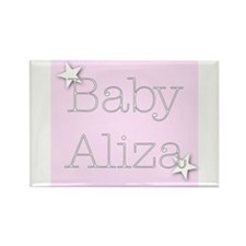 Cute Aliza Rectangle Magnet