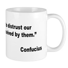 Confucius Trust Friends Quote Mug