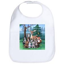 Forest Family Bib
