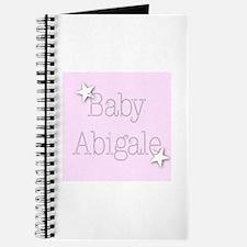 Cute Abigale Journal