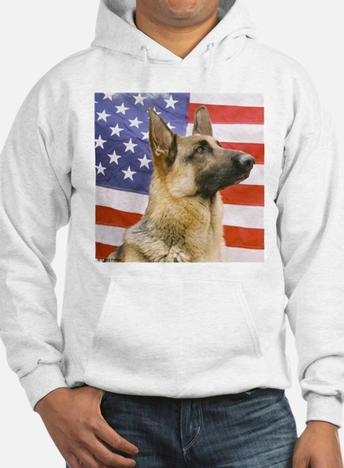 All American Military and Police K9 Hoodie