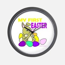 MY FIRST EASTER Wall Clock