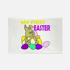 MY FIRST EASTER Rectangle Magnet