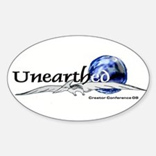 Creator Conference 08 Oval Decal