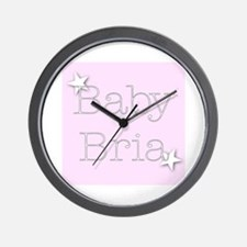 Cute Bria Wall Clock
