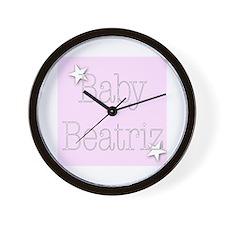 Cute Beatriz Wall Clock