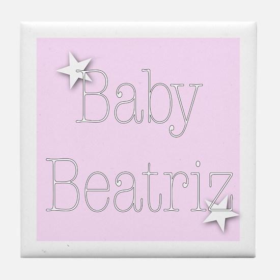 Unique Beatriz Tile Coaster