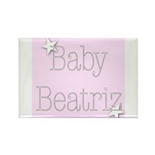 Cute Beatriz Rectangle Magnet