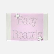 Funny Beatriz Rectangle Magnet