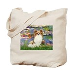 Lilies & fawn Papillon Tote Bag