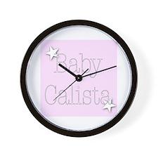 Cute Calista Wall Clock