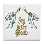 Joy to the world Tile Coaster